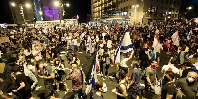 İsrail'de Netenyahu karşıtı gösteriler sürüyor