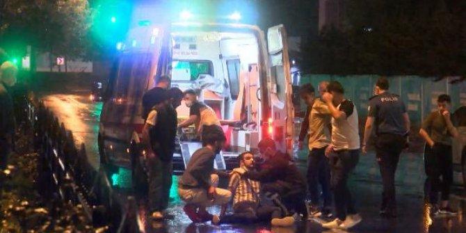 İstanbul'da gece yarısı zincirleme kaza