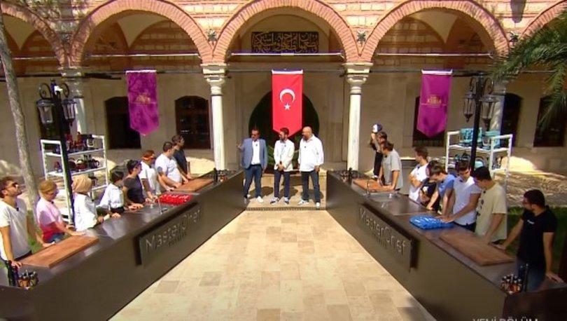 MasterChef Türkiye'de eleme adayları belli oldu. Dokunulmazlık oyununu hangi takım kazandı