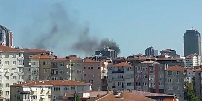 ATV ve Sabah'ın eski binasında yangın