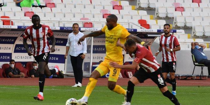 Sivasspor-Ankaragücü maçından gol sesi çıkmadı