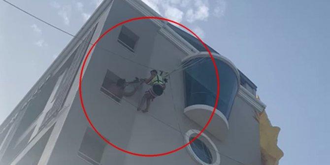 Marmaris'te herkes bir anda o yöne baktı: Kimse önce ne olduğunu anlamadı: Otelin çatısına zorla iniş yaptı