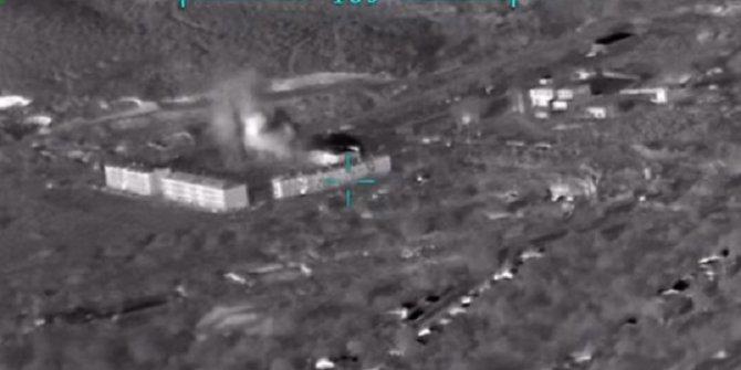 İşte saniye saniye o anlar: Azerbaycan, Ermeni mevzisini böyle vurdu