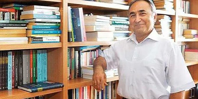 Koronadan ölen Prof. Dr. Hasan Onat, memleketinde toprağa verildi