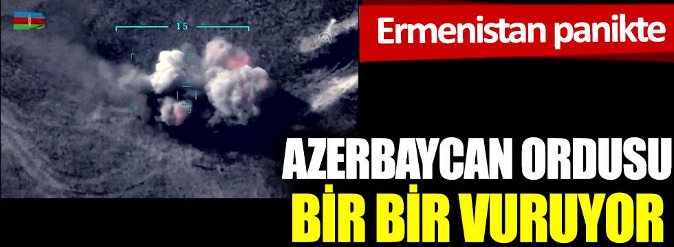 Azerbaycan ordusu bir bir vuruyor, Ermenistan panikte