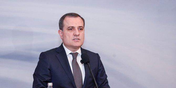 Azerbaycan Dışişleri Bakanı Ceyhun Bayramov cephedeki son durumu açıkladı