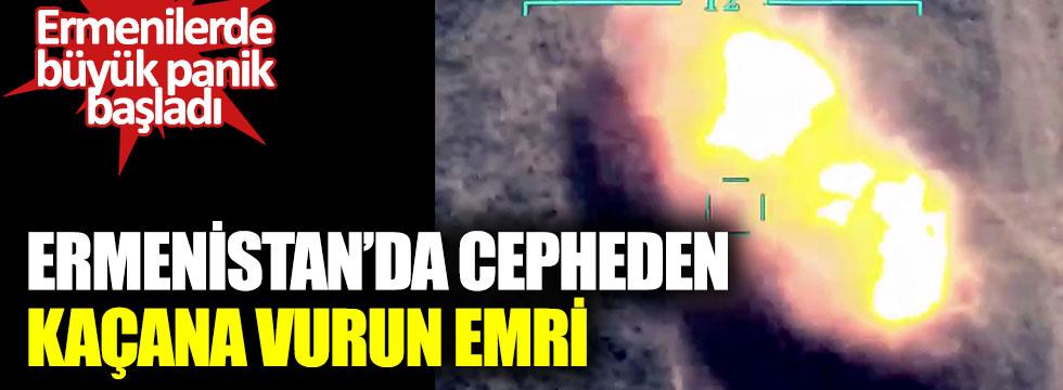 Ermenistan'da cepheden kaçana vurun emri verildi. Ermenilerde büyük panik başlattı
