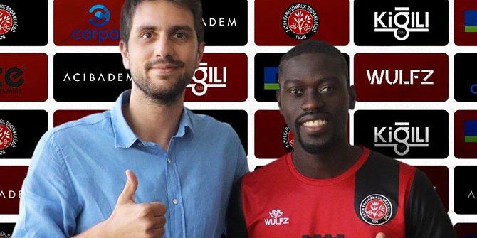Fatih Karagümrük eski Galatasaraylı Badou Ndiaye'yi resmen açıkladı