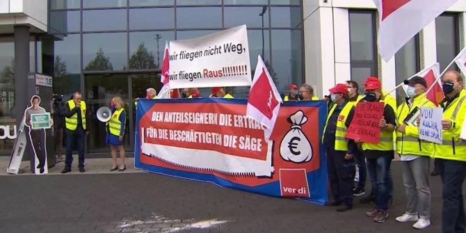 Almanya'da binlerce çalışan 'uyarı grevine' gidiyor