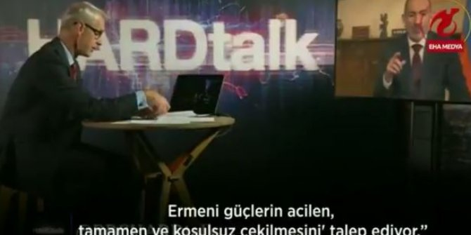 BBC sunucusu, Ermenistan Başbakanı Nikol Paşinyan'ı canlı yayında rezil etti