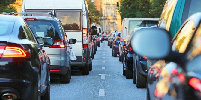 Trafikteki toplam araç sayısı belli oldu