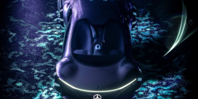 Mercedes'in Avatar tasarımlı otomobili Vision AVTR test edildi