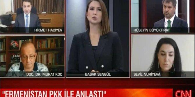 Azerbaycan Cumhurbaşkanı Yardımcısı Ermenistan'ın PKK planını canlı yayında açıkladı