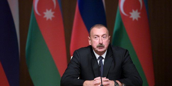 Azerbaycan Cumhurbaşkanı Aliyev'den Türkiye açıklaması