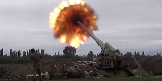 Azerbaycan ordusu Ermeni hedeflerini bir bir vururken, Ermenistan yine sivillere saldırdı