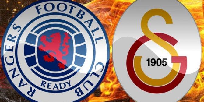 Galatasaray'ın rakibi Rangers'tan dikkat çeken performans