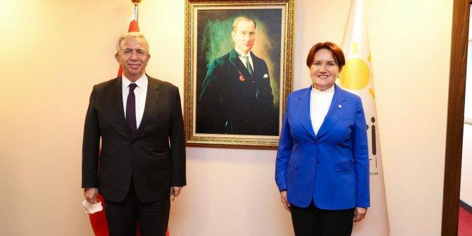 Mansur Yavaş'tan Meral Akşener'e sürpriz ziyaret