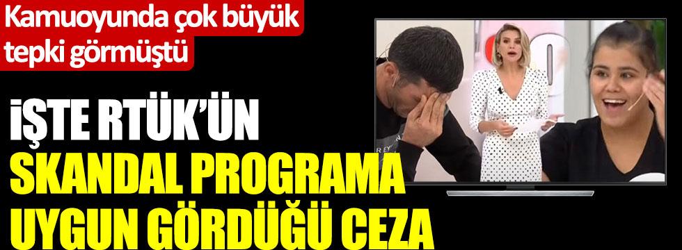 RTÜK, Esra Erol'la programındaki skandalla ilgili kararını verdi!