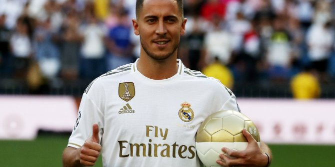 Real Madrid'de Eden Hazard şoku