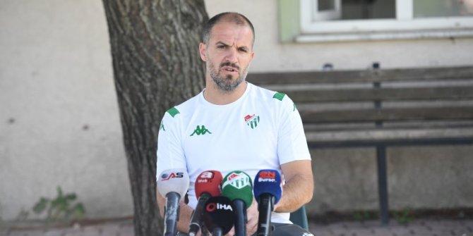 Bursaspor teknik direkörü Mustafa Er, takımın en büyük eksiğini açıkladı