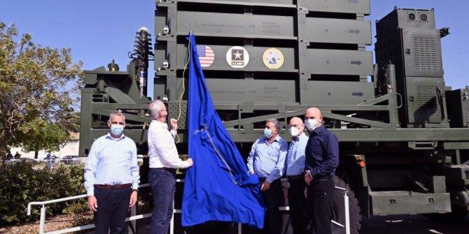 ABD'nin İsrail'den aldığı Demir Kubbe'nin teslimatı yapıldı