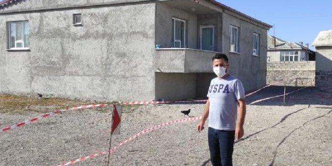 Konya'da obruk riski nedeniyle ev tahliye edildi