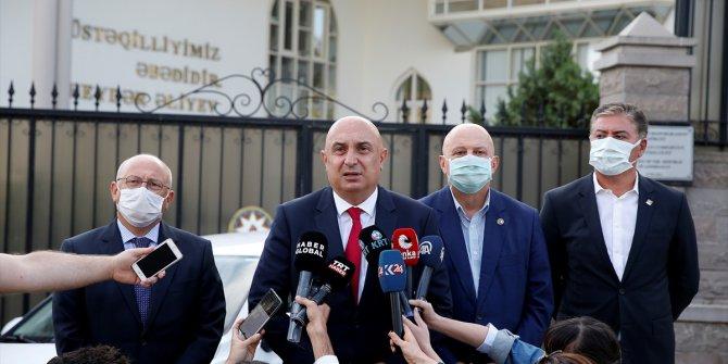 CHP'den Azerbaycan Büyükelçisi'ne destek ziyareti