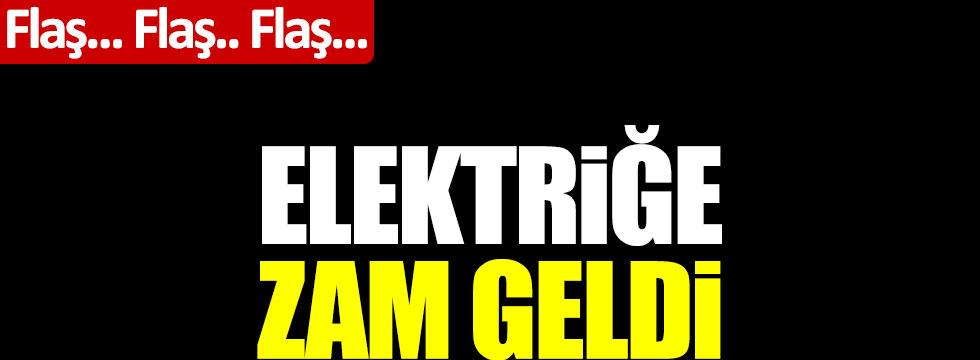 Elektriğe zam geldi Resmi Gazete yayınlandı