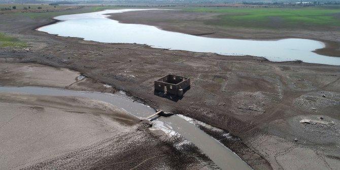 Sular çekilince tarihi miras ortaya çıktı
