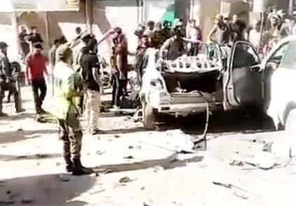 Afrin'de bomba yüklü araçla saldırı, 2 yaralı