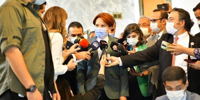 """Meral Akşener: """"İç meselelerimizle Türkiye'yi meşgul etmeyi doğru bulmuyorum"""""""