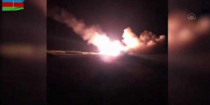 Azerbaycan füzeleri gece boyunca Ermeni birliklerini vurdu