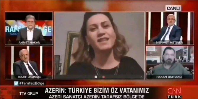 Ahmet Hakan canlı yayında dondu kaldı. Çünkü Azerin doğruyu açıkladı
