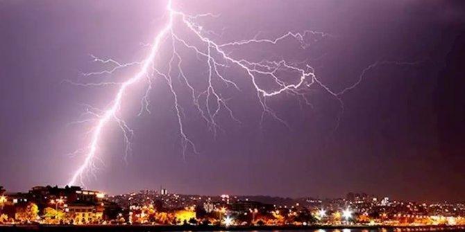 Meteoroloji saat verip uyardı! Bir çok ile kuvvetli yağış ve rüzgar uyarısı!