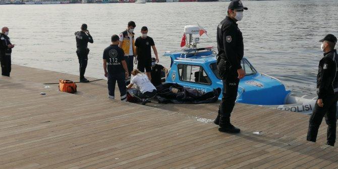 Eminönü'de denizden ceset çıkartıldı