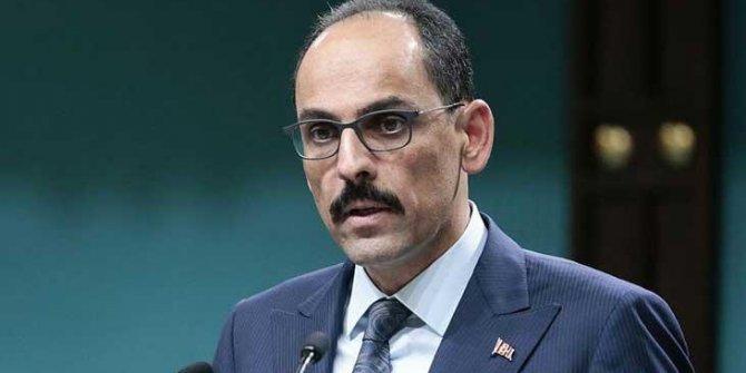 İbrahim Kalın'dan Ermenistan'ın Gence'ye saldırısına tepki