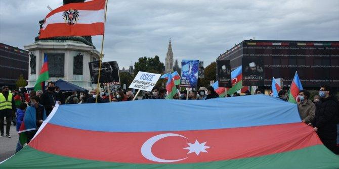 Avusturya'da Ermenistan'ın saldırıları protesto edildi