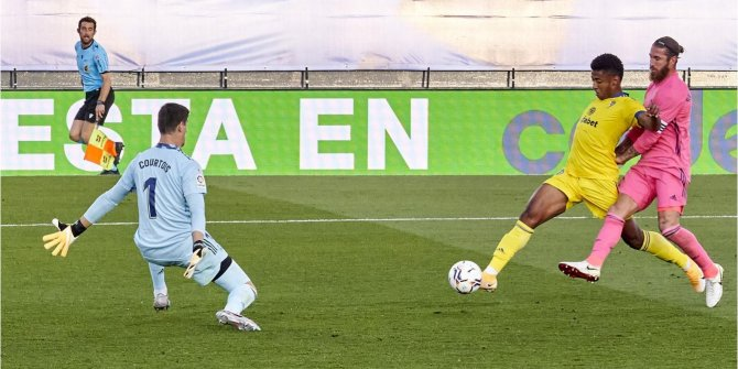 Real Madrid ligde 15 maç sonra Cadiz'e kaybetti