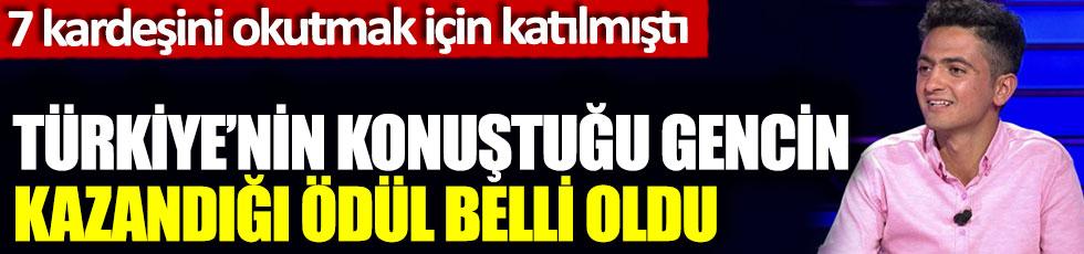 Türkiye'nin konuştuğu Hikmet Karakurt'un kazandığı ödül belli oldu, 7 kardeşini okutmak için Kim Milyoner'e katılmıştı katılmıştı
