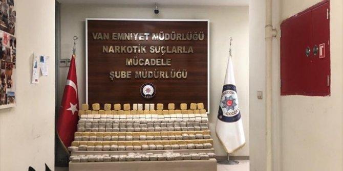 Van'da 282 kilo eroin ele geçirildi
