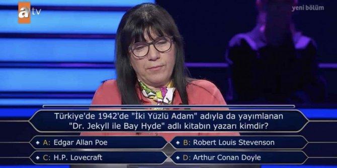 İki Yüzlü Adam (Dr. Jekyll ile Bay Hyde) kitabının yazarı kimdir? Kim Milyoner Olmak İster sorusunun yanıtı