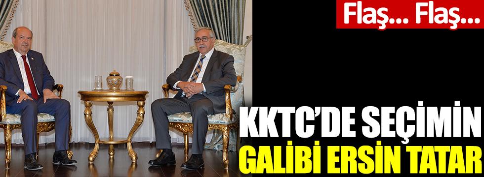 Ersin Tatar Kuzey Kıbrıs Türk Cumhuriyeti'nin yeni Cumhurbaşkanı oldu