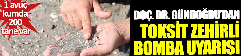 Adana sahillerinde kanser kol geziyor. 1 avuç kumda 200 tane var. Doç. Dr. Sedat Gündoğdu'dan toksit zehirli bomba uyarısı