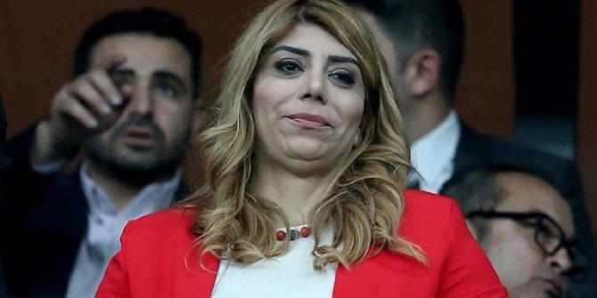 Kayserispor Başkanı Berna Gözbaşı'na locada saldırı. 2 gün sonra ortaya çıktı