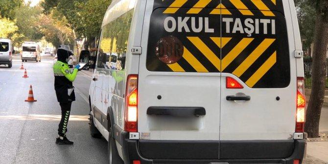 Emniyet Genel Müdürlüğü 159 okul servisinin trafikten men edildiğini açıkladı
