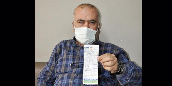 Emekli polis memuru doğalgaz faturasını görünce hayatının şokunu yaşadı