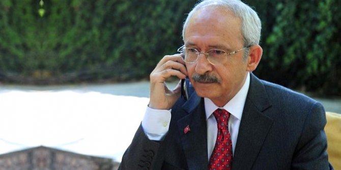 Kemal Kılıçdaroğlu'ndan Ersin Tatar'a tebrik telefonu