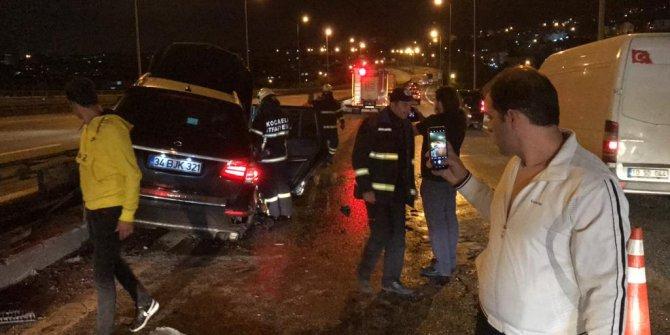 İzmit'te görünmez kaza ucuz atlatıldı