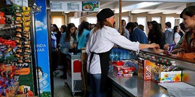 Milli Eğitim Bakanlığı'ndan yeni karar.  Okul kantinleri açıldı