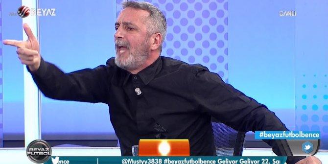 Beyaz TV'de büyük rezalet: Abdülkerim Durmaz küfür etti, stüdyo bir anda buz kesti